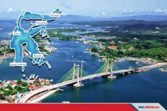 Jadi Ikon Baru, Jokowi Puji Arsitektur Jembatan Teluk Kendari