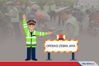 3.577 Pengendara Ditilang, di Hari Pertama Operasi Zebra Jaya