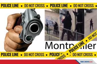 Prancis Kembali Diguncang Aksi Penembakan, Kini 2 Geng Bersenjata