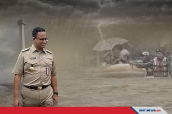 Cegah Banjir di Jakarta, ini Langkah Anies Untuk Mengatasinya