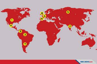 Lebih dari 50 Juta Orang di Dunia Terinfeksi Virus Corona
