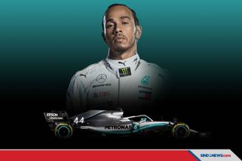 Raih Gelar Ketujuh, Hamilton Samai Rekor Schumacher