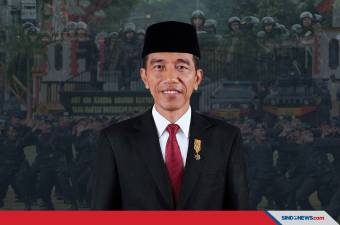 Pesan Khusus Presiden Jokowi di HUT ke-75 Korps Brimob