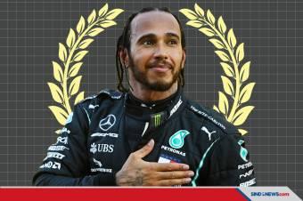 Hamilton Juara Dunia Ketujuh Usai Taklukkan GP Turki 2020