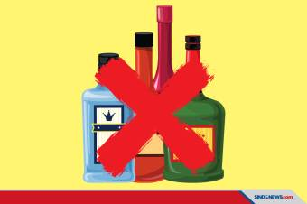 Bir, Vodka, Ciu hingga Topi Miring Dilarang RUU Minol
