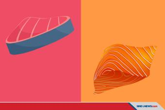 Ikan Tuna vs Ikan Salmon, Manakah yang Lebih Sehat?