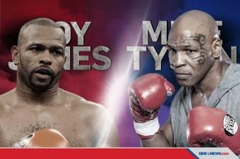 Mike Tyson Tidak Ingin Main-main Saat Lawan Roy Jones Jr