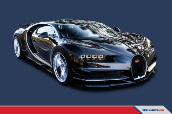 Bugatti Chiron pur Sport Jadi Mobil Paling Boros di Amerika