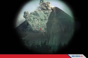 Gunung Merapi Alami Guguran Lava dari Tebing 1954