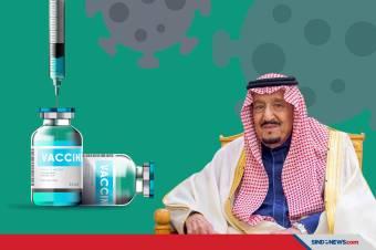 Arab Saudi Bakal Gratiskan Vaksin COVID-19 untuk Warganya