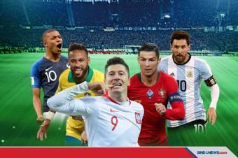 Nominasi Peraih The Best FIFA 2020, Lewandowski di Depan Messi dan CR7