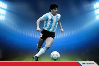 Adios Diego Maradona, Inilah Deretan Prestasi Sang Legenda