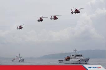 Kapal Militer Malaysia Berseteru dengan Coast Guard China di LCS