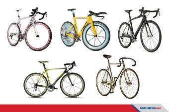 5 Sepeda Termahal di Dunia, Ada yang Berlapis Emas