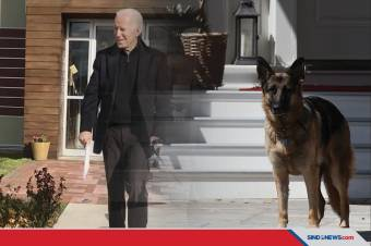 Terpeleset, Presiden Terpilih Joe Biden Alami Patah Tulang Kaki