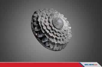 Cincin dengan 12.638 Berlian Ini Masuk Guinness World Records
