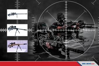 Ngerinya Senapan Sniper Anak Bangsa, Bikin Tank Tak Berkutik