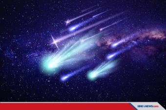 Fenomena Langit di Penghujung 2020, Ada Hujan Meteor Geminid