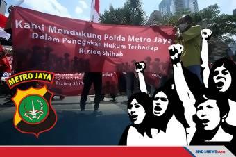Dukung Polda Metro Pendemo Minta Kasus Habib Rizieq Diusut Tuntas