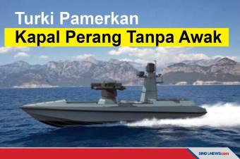 Turki Pamerkan Prototipe Kapal Perang Tanpa Awak Buatan Lokal