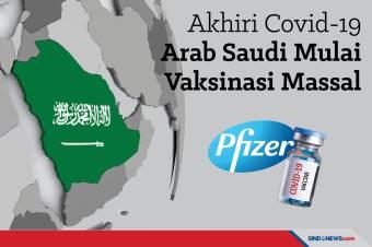 Akhiri Covid-19, Arab Saudi Mulai Vaksinasi Massal