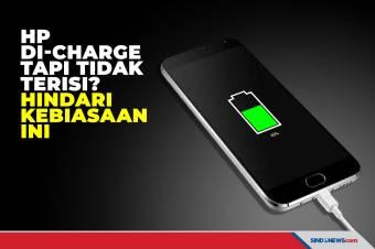 Baterai Ponsel Tak Terisi Meski di-Charge? Hindari Kebiasaan Ini