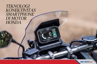 Honda Rilis Teknologi Konektivitas Smartphone di Motor