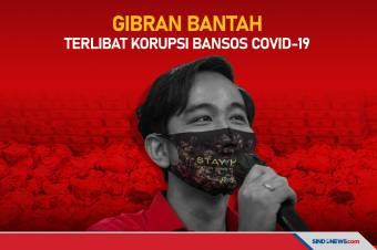 Gibran Tegas Bantah Terlibat Korupsi Bansos Covid-19