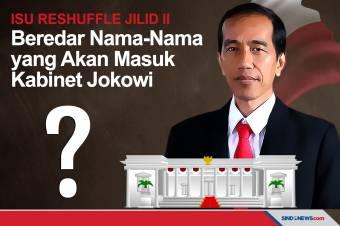 Isu Reshuffle Kian Santer, Nama-nama yang Masuk Kabinet Jokowi?