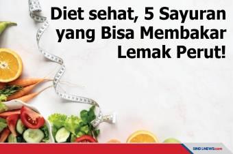 Diet sehat, 5 Sayuran Ini Bisa Membakar Lemak Perut!