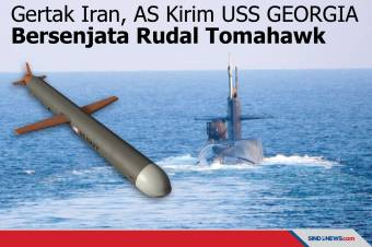 Gertak Iran, AS Kirim USS GEORGIA Bersenjata Rudal Tomahawk