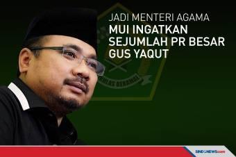 Jadi Menag, MUI Ingatkan Ada Sejumlah PR Besar Gus Yaqut