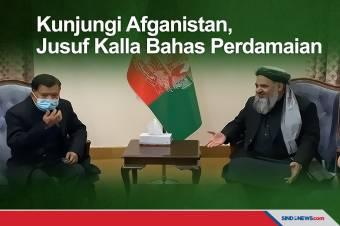 Wujudkan Perdamaian, Jusuf Kalla Bantu Pemerintah Afganistan