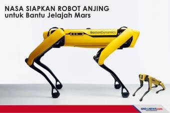 NASA siapkan Robot Anjing untuk Bantu Jelajah Mars