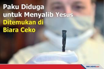 Paku Diduga untuk Menyalib Yesus Ditemukan di Biara Ceko