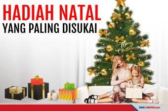 Hadiah yang Paling Disukai saat Perayaan Hari Natal