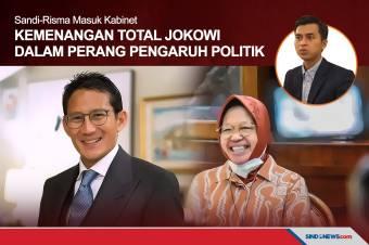 Kemenangan Total Jokowi dalam Perang Pengaruh Politik