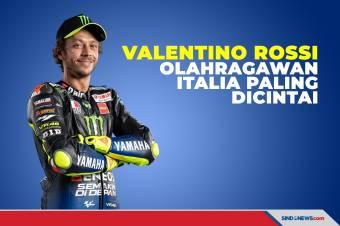 Sisihkan Del Piero, Rossi Olahragawan Italia Paling Dicintai