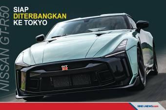 GT-R50, Mobil Nissan Paling Perkasa Siap Diterbangkan ke Tokyo