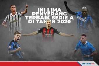 Ini Lima Penyerang Terbaik Serie A Liga Italia di Tahun 2020