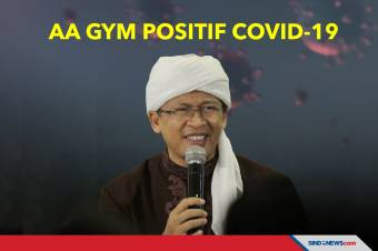 Dai kondang Abdullah Gymnastiar alias Aa Gym positif Covid-19.