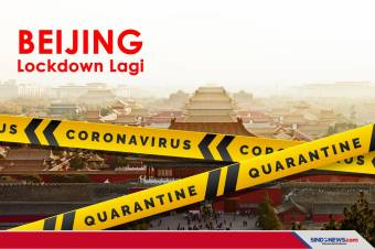 Corona melonjak lagi, Beijing Berlakukan lockdown