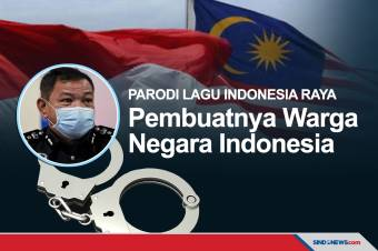 Pembuat Parodi Lagu Indonesia Raya Diproses Hukum di Malaysia
