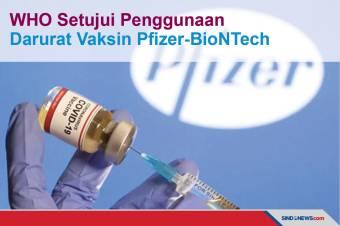 WHO Setujui Penggunaan Darurat Vaksin Pfizer-BioNTech