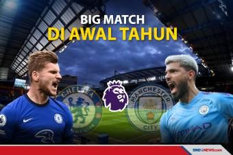 Chelsea vs Manchester City: Big Match di Awal Tahun!