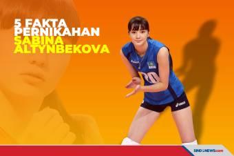 5 Fakta Pernikahan Pevoli Cantik Sabina Altynbekova