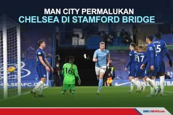Chelsea Dipermalukan Manchester City di Stamford Bridge