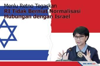 Menlu Retno, RI Tidak Berniat Normalisasi Hubungan dengan Israel