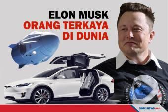 Pendiri Tesla Elon Musk Jadi Orang Terkaya di Dunia