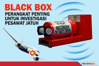 Black Box, Perangkat Penting untuk Investigasi Kecelakaan Pesawat